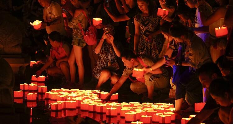 Light Festival in Xishuangbannan