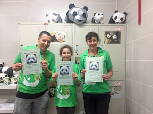 Customers' Panda Volunteer Program Story