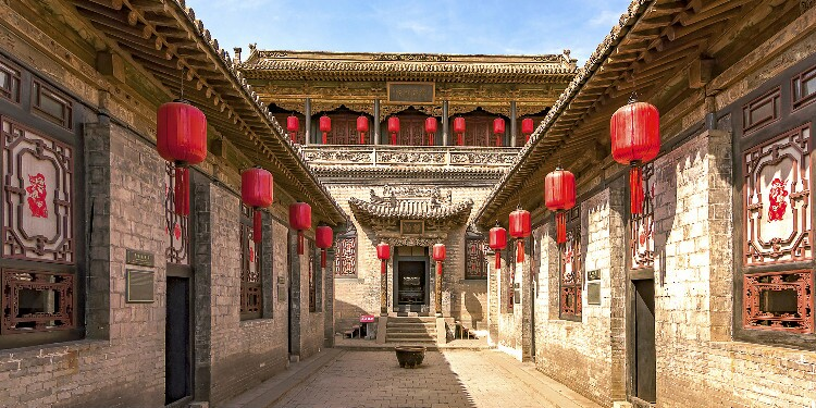the Pingyao ancient town