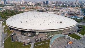 shanghai mercedes benz arena. Black Bedroom Furniture Sets. Home Design Ideas
