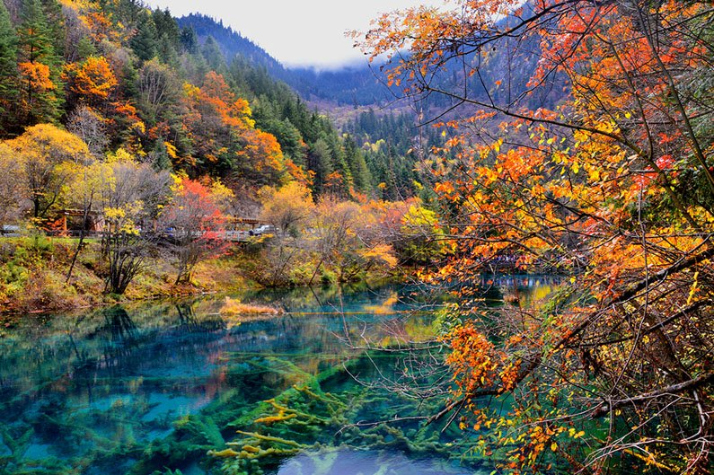 1. Jiuzhaigou U2014 Chinau0027s First National Park