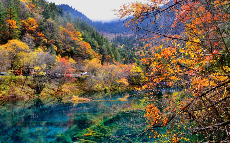 Jiuzhaigou Weather in November
