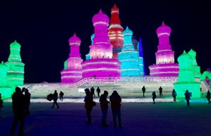 ice sculpture, harbin
