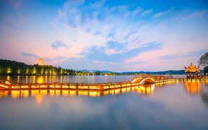 You can visit Hangzhou West Lake during your Shanghai staying