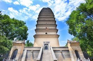 La petite pagode de l'oie sauvage