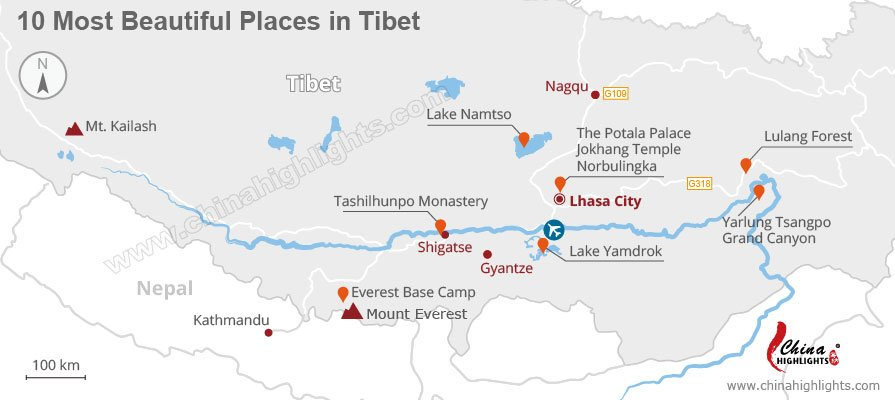 tibet best places