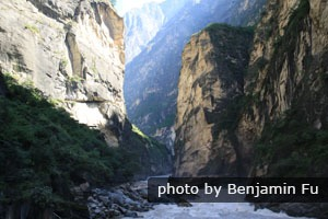 Tiger Leaping Gorge at the upper reach of the River