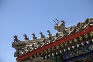 A kind of roof of Chinese traditional building