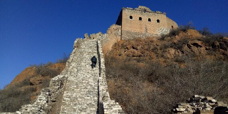 the broken steps of Jinshanling