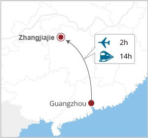 How to get to Zhangjiajie from Guangzhou