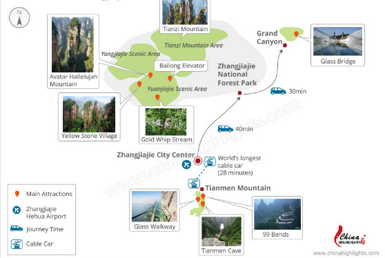 Zhangjiajie Attractions