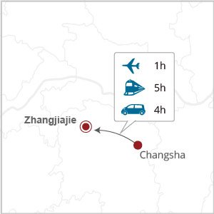 How to get to Zhangjiajie from Changsha