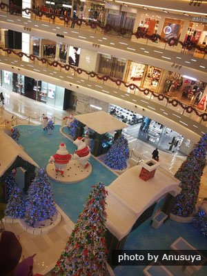 IAPM Mall in Christmas