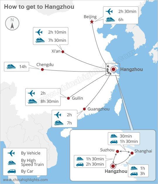 Hangzhou map