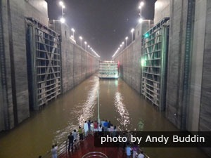 Three Gorges Dam ship lock