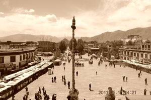 Jokhang temple in history