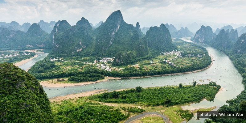 Guilin, one of the top places to visit in China in April