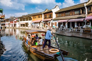 top things to do in shanghai: Zhujiajiao Water Town
