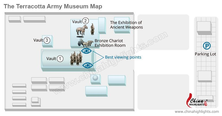 terracotta army map