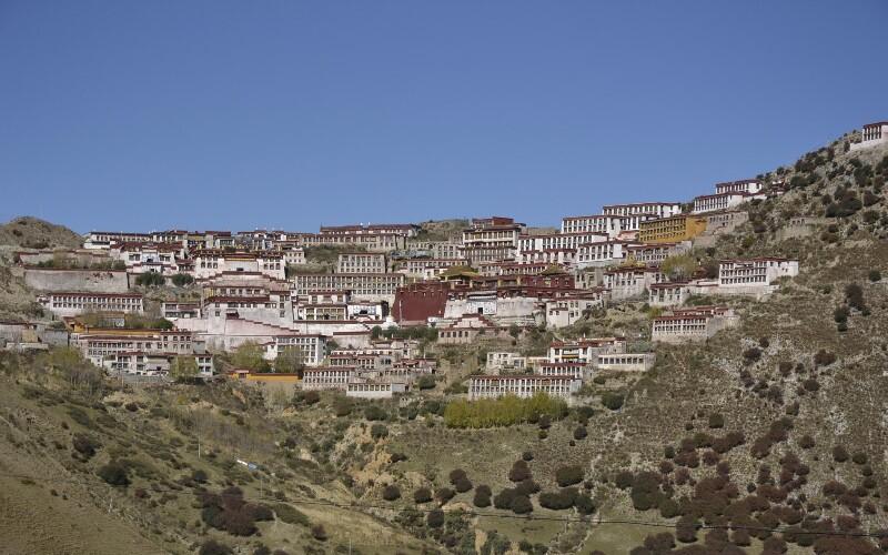 Hiking from Gandan Monastery to Samye Monastery