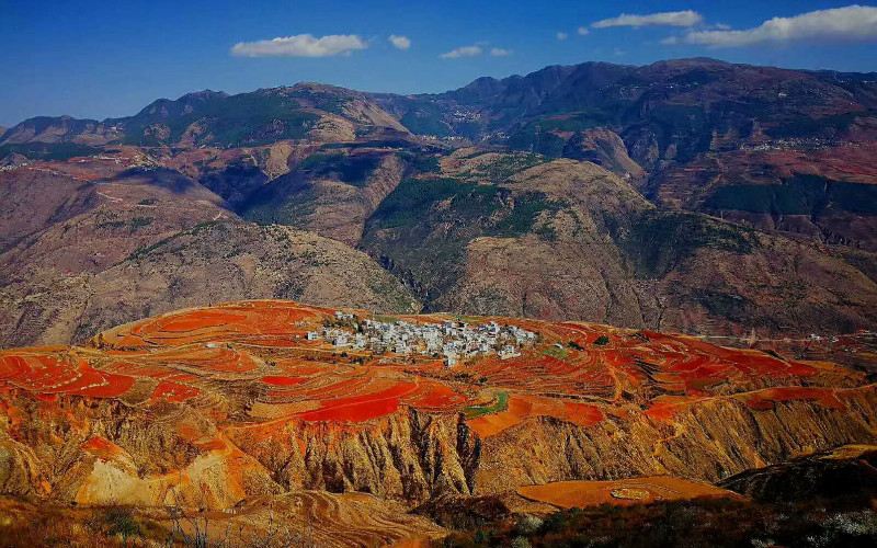 Photography Tips at Dongchuan Red Lands