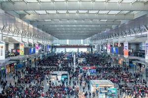 The Spring Festival Travel Rush Season in China