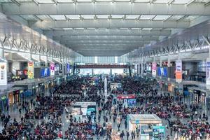 The Spring Festival Travel Rush Season in China