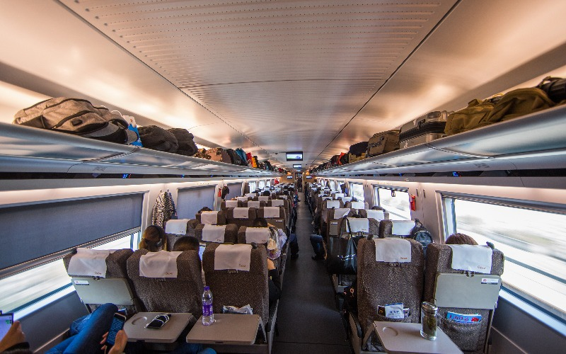 Train Trips in China with Children