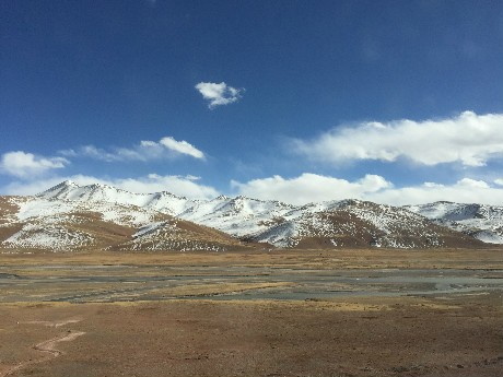 Scenery on the Tibet Plateau