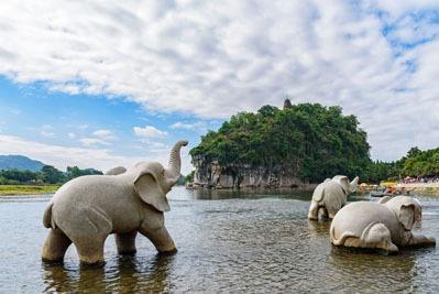 collina elefante guilin