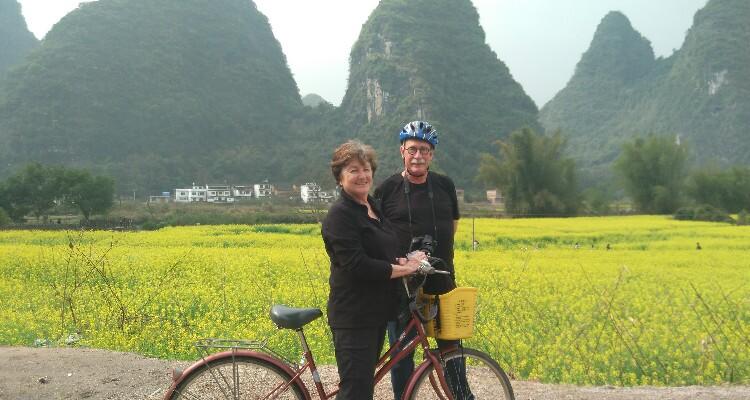 Traveling in Yangshuo
