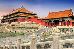 The Forbidden City side halls