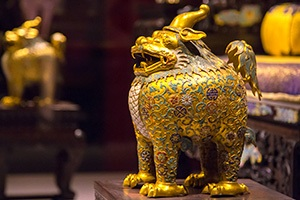 A palace treasure in the Forbidden City