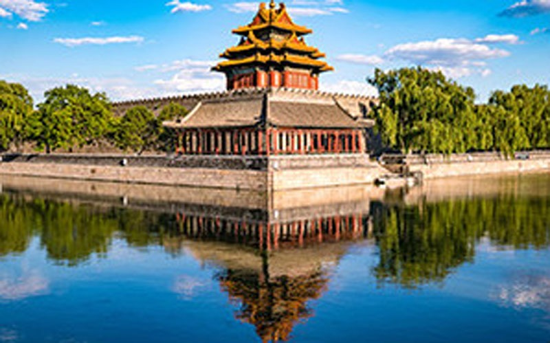 Imperial Garden of Beijing Forbidden City