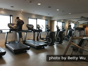 High-class Fitness Center in a China Hotel