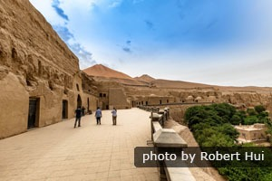 Buddhist caves on the Silk Road