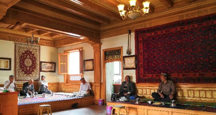 The Ethnic Instruments at Kashgar Local Market