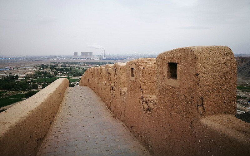 The Ningxia Guyuan Great Wall Section of the Qin Dynasty