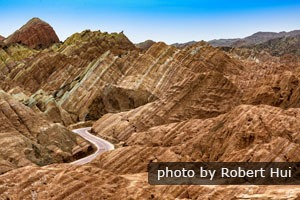 Zhangye Rainbow Mountains