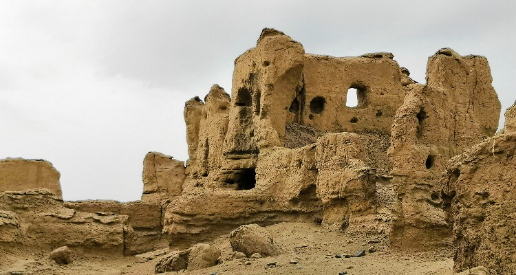 The Ruins of the Jiaohe Ancient City