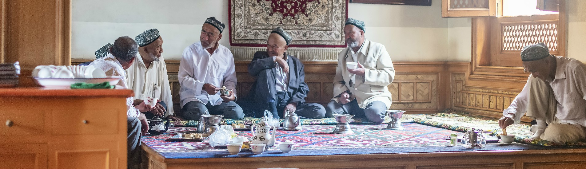 Uyghur tea house