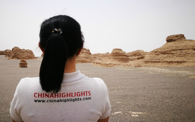 The Great Wall near Dunhuang