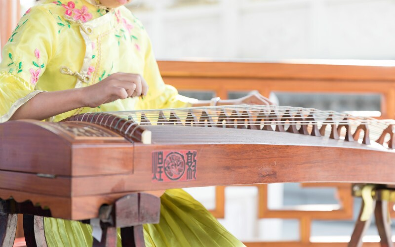 Música tradicional china, música clásica china, canciones chinas
