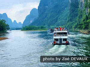 Guilin day tour to Li River cruise