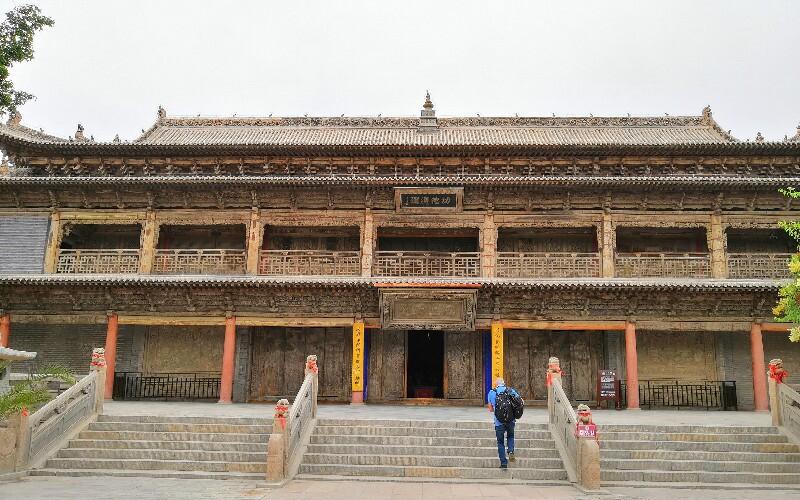 The Grand Buddha Temple in Zhangye