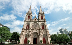 a Christianity church in Guangzhou