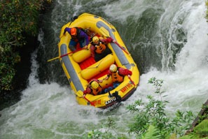 White Water Rafting in Chengdu