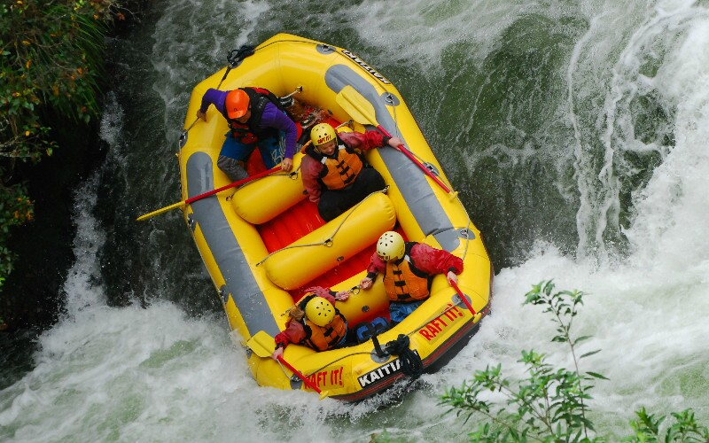 Top 4 Places for White Water Rafting around Beijing