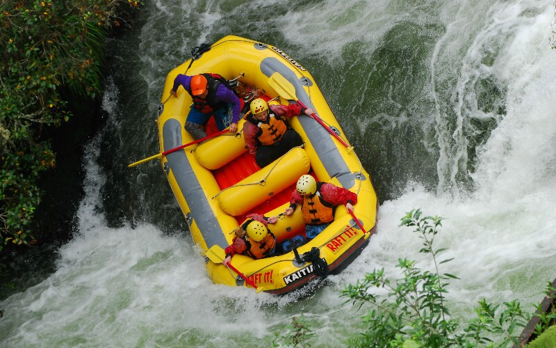 Top 4 White River Rafting Locations around Chengdu