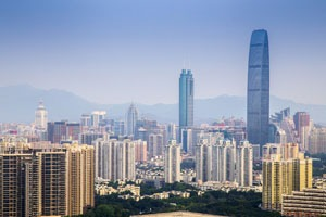 Visit Shenzhen in a clear day
